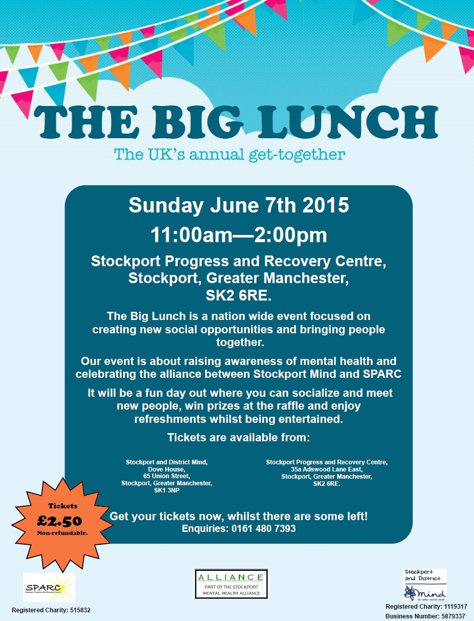 stockport district mind the big lunch stockport district mind