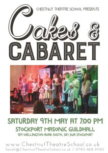 Cakes and Cabaret Charity Fundraising Night