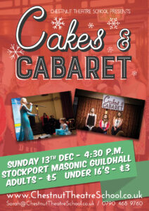 Cake and Cabaret Night to raise funds for Stockport Mind and the Together Trust