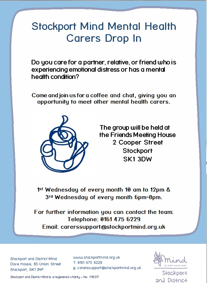 Carers drop in service