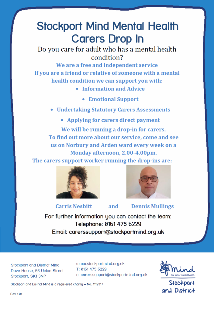 carers drop in