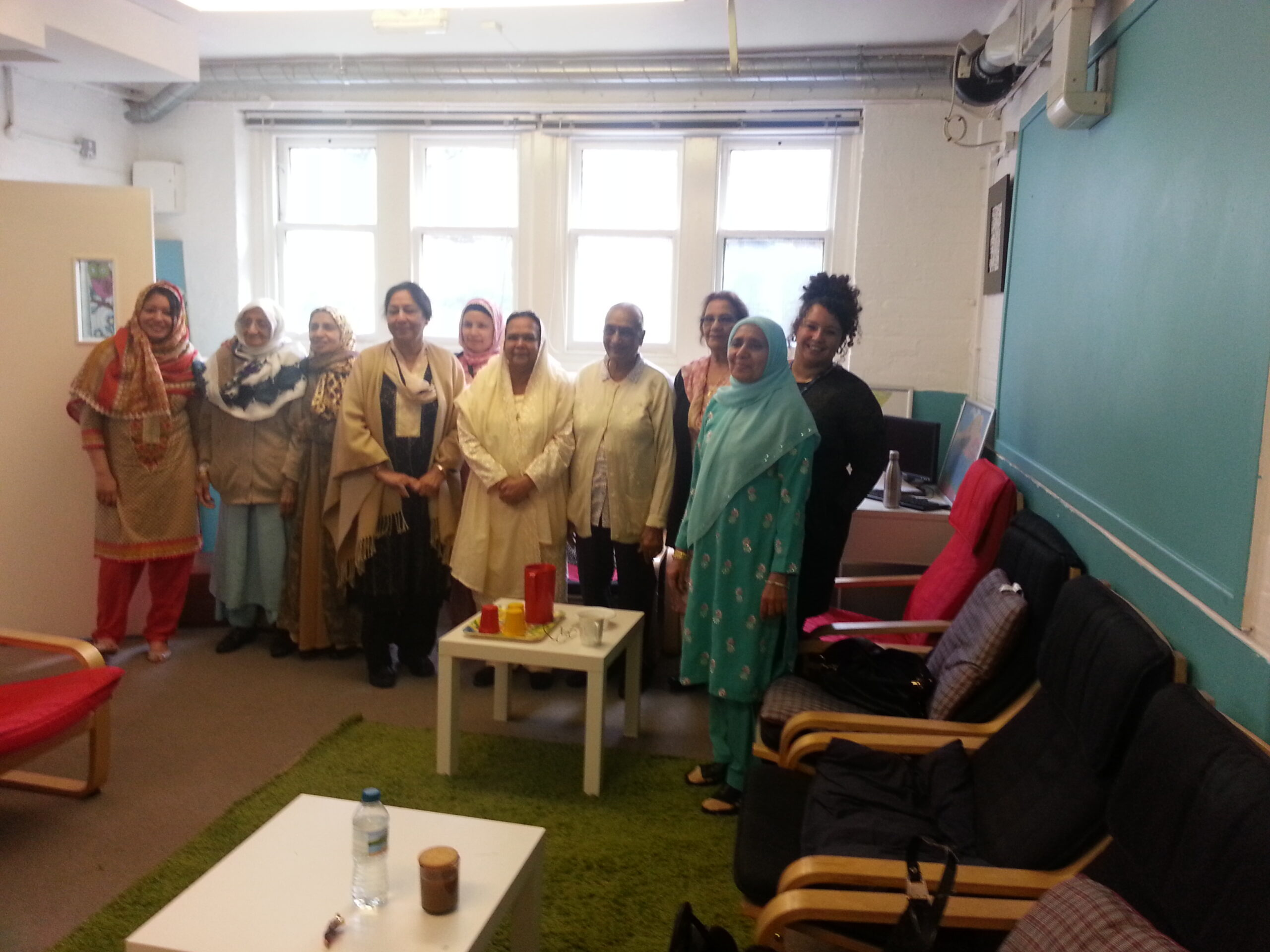 Stockport Mind staff join Eid celebrations at Asian Heritage Centre