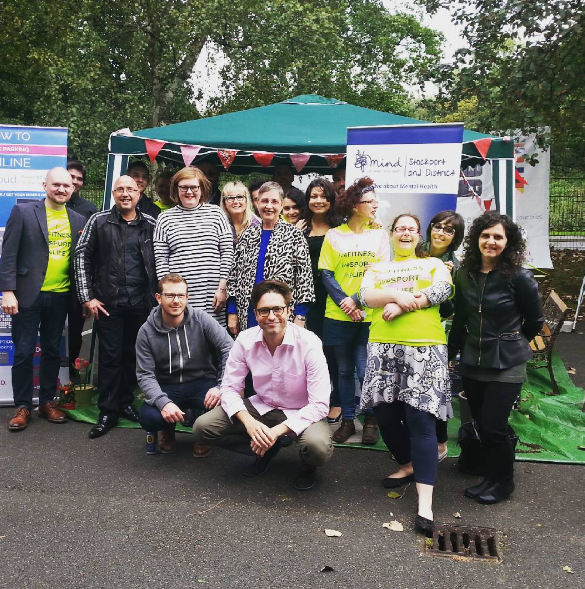 ParkCloud raise almost £600 for Stockport Mind