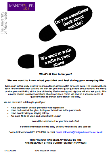 Sleep and Suicide Prevention study seeks participants