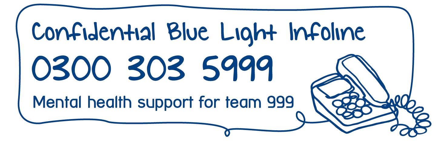 Mind's Blue Light infoline for emergency services staff and volunteers