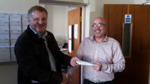 Thanks to Costain for raising £1000 for us