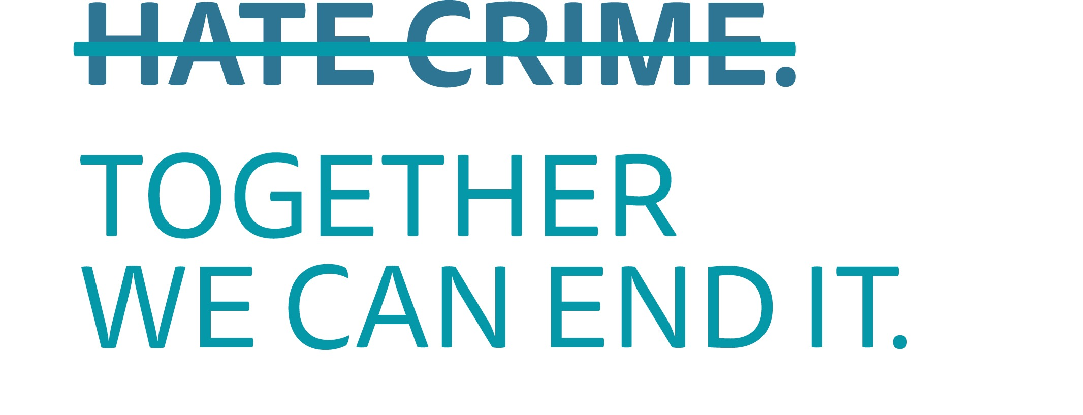 We are now a third party Hate Crime Reporting Centre