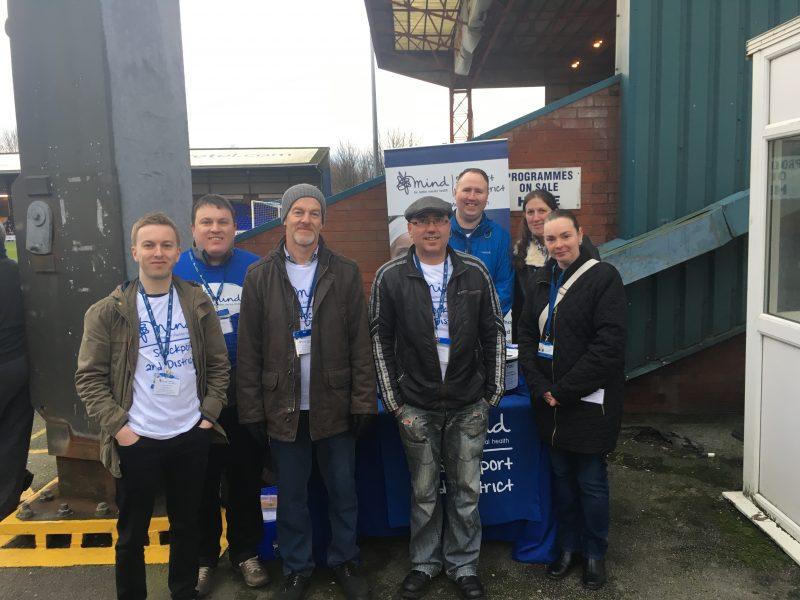 Thanks to Stockport County FC and the Community Foundation