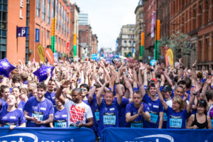 Great Manchester Run fundraiser