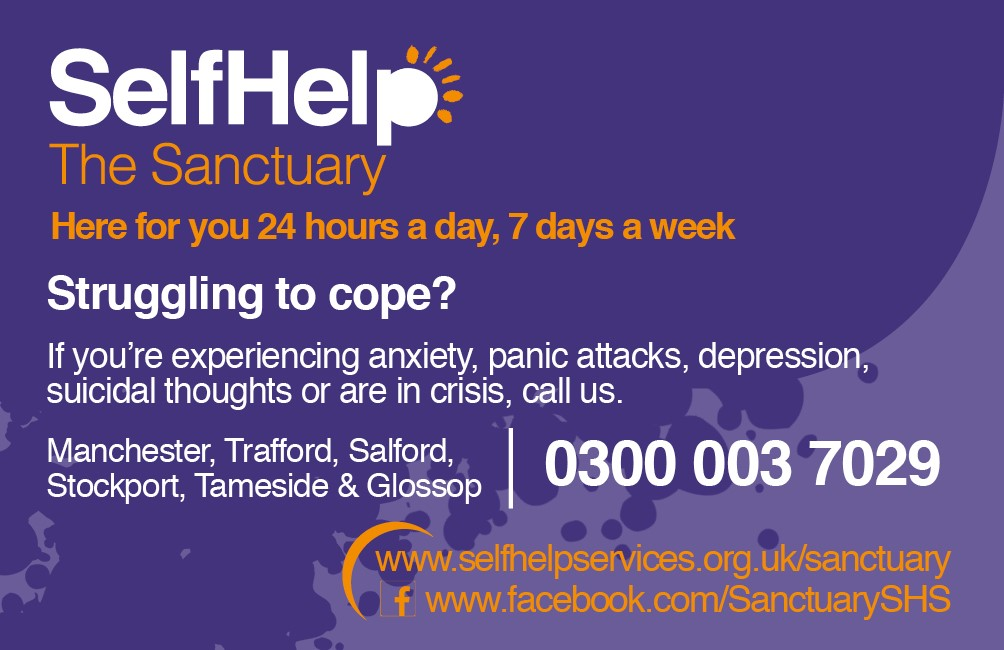 The Sanctuary: 24-hour mental health crisis support for Stockport residents