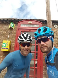 Cycling fundraiser – 900 miles in four days