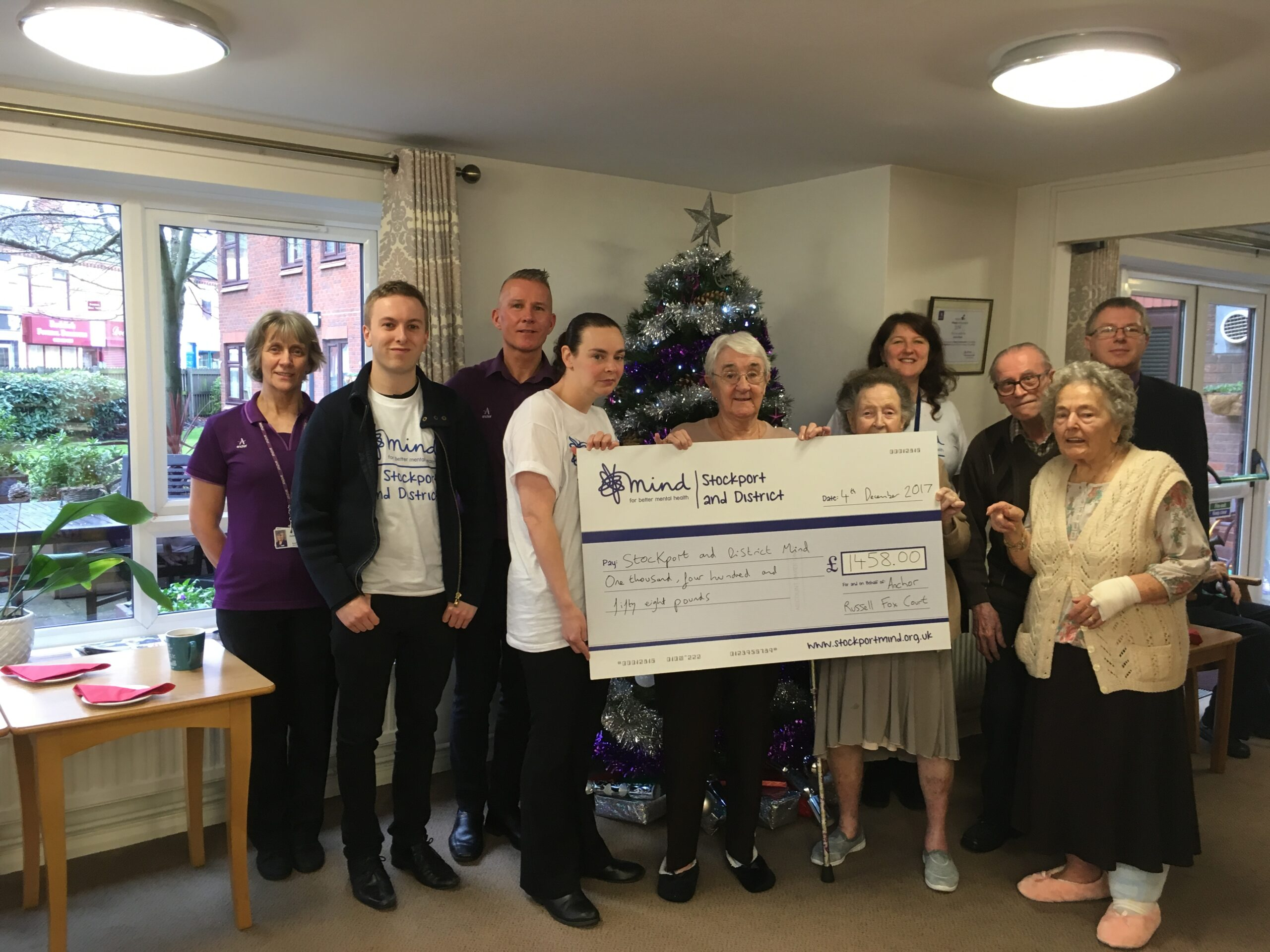 Anchor (Russell Fox Court) raise over £1500