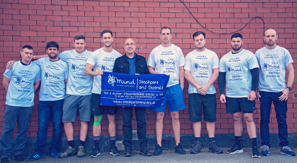 Fundraising for Stockport Mind in 2019