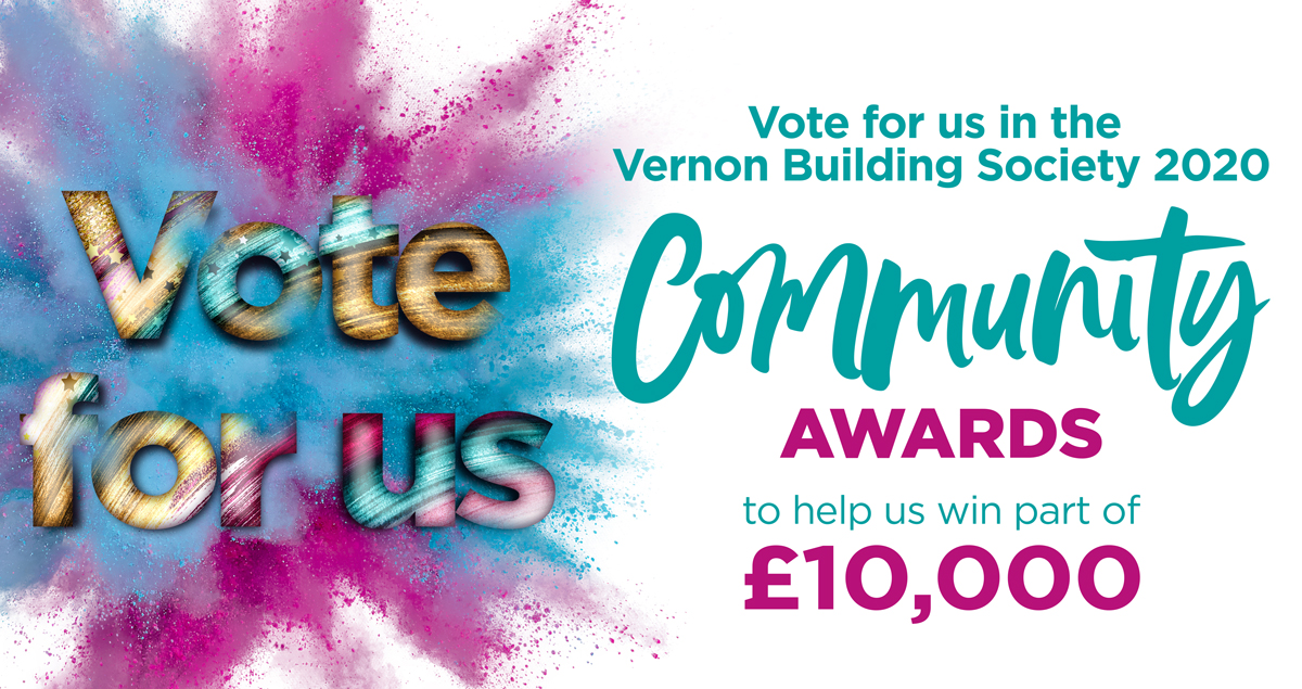 Please vote for us – Vernon Community Awards