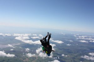 Funeral directors fall 10,000ft to support mental health in the Stockport community